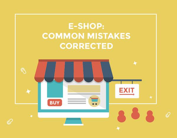 Blog: Λάθη στην κατασκευή e-shop