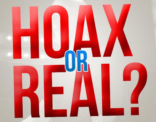 Blog: hoax